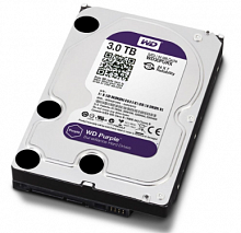 Жесткий диск HDD 3TB WD WD30PURX (SATA3-600) Purple